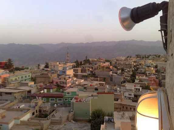 Topo Minarete de Amedi, Região Curdistão, Iraque