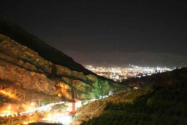 Vale de Gely em Dohuk, Região do Curdistão, Iraque