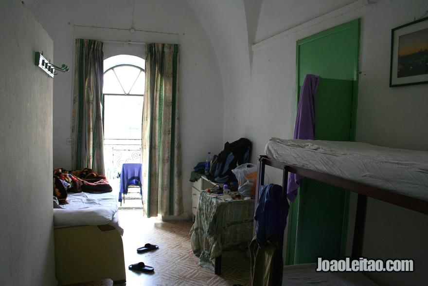 Quarto do hotel Hostel Petra em Jerusalém
