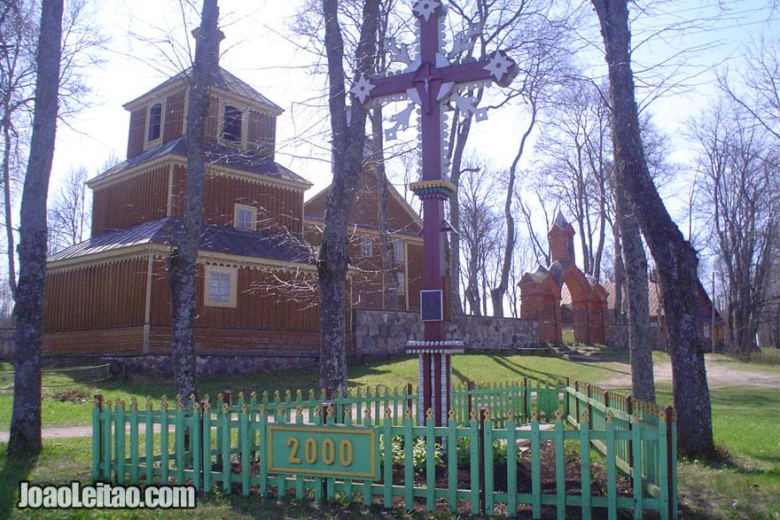 Igreja de madeira em Labanoras, Visitar a Lituânia