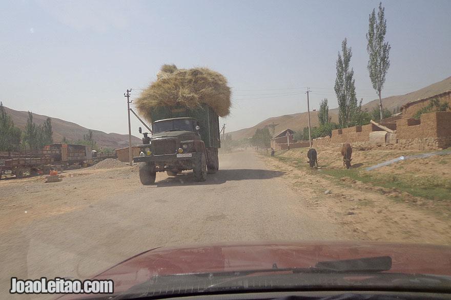 Guiar / dirigir no Uzbequistão