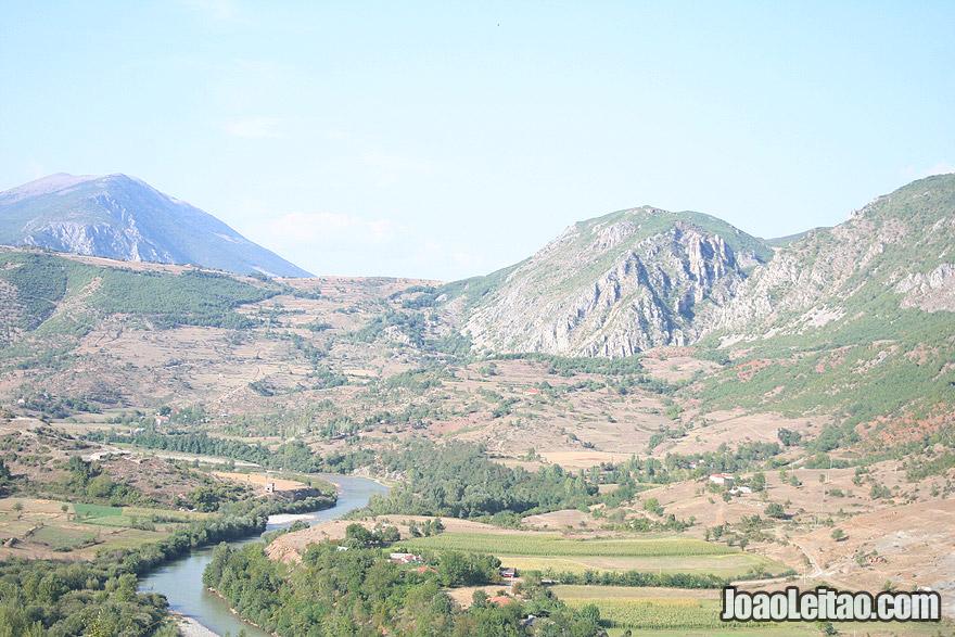 Montanhas na Albânia