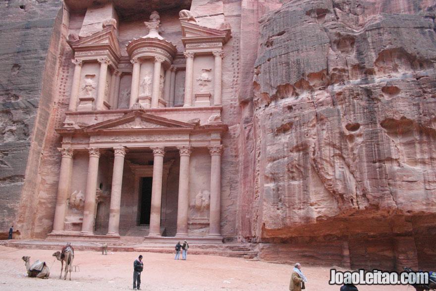 A Câmara do Tesouro em Petra, Visitar a Jordânia