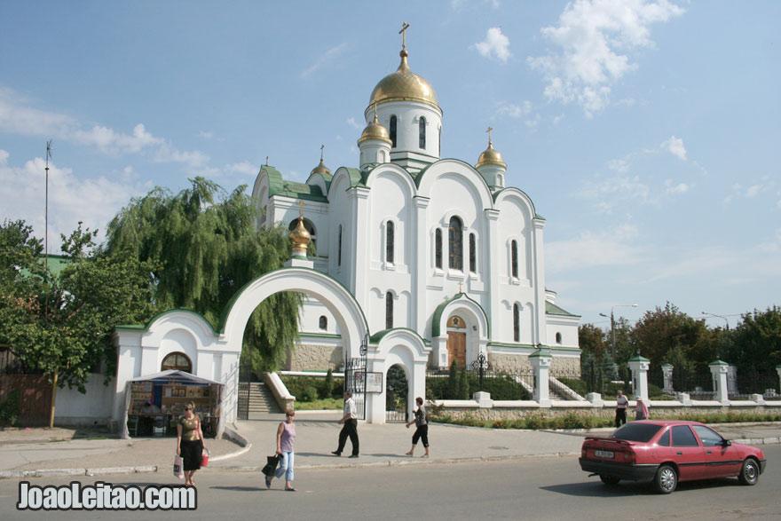 Catedral de Tiraspol, Visitar a Pridnestróvia