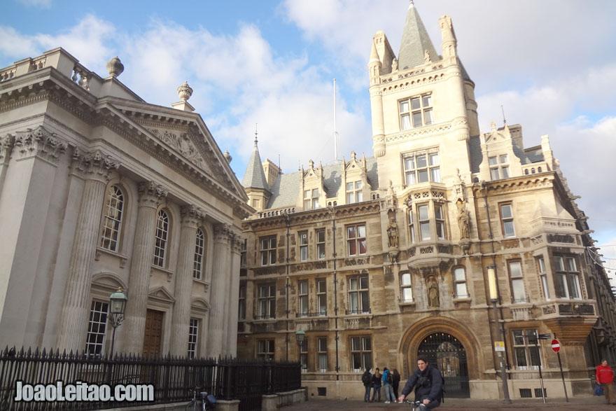 Centro de Cambridge, Visitar o Reino Unido