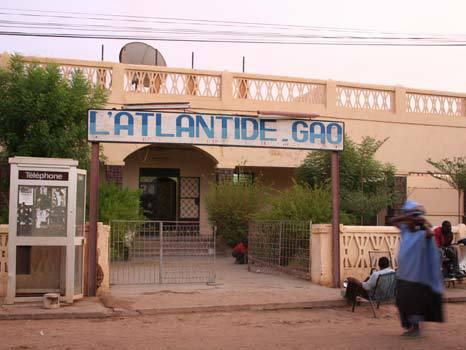 Hotel Atlantide em Gao, Mali 1