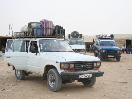 Transporte 4x4 desde Tombuctu até Mopti, Mali