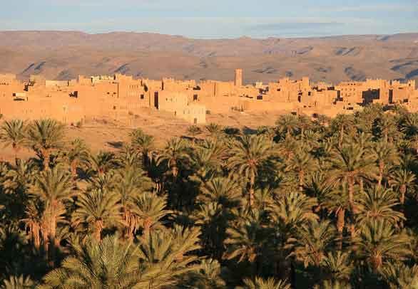 Nkob, Aldeia dos 45 Casbahs, Marrocos