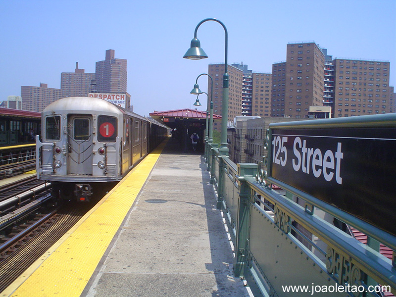 Como chegar ao Harlem