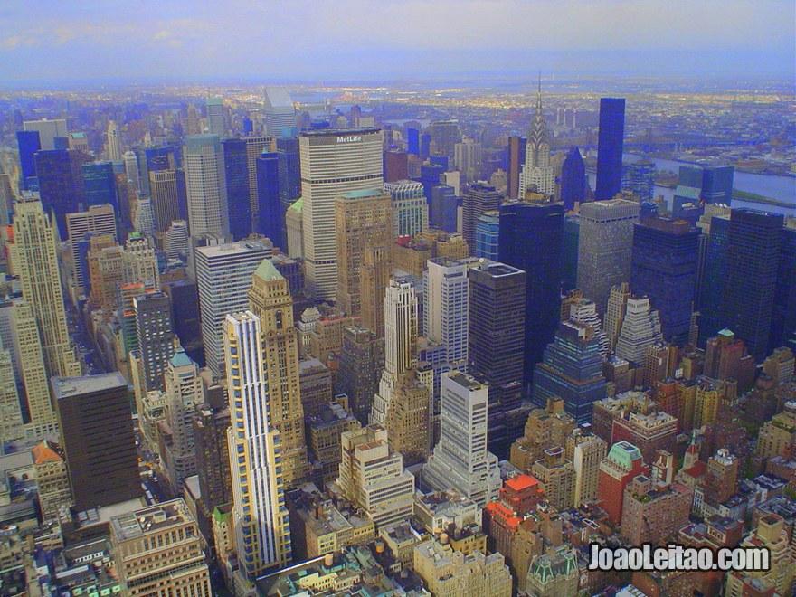 Arranha-céus da Mid-Town em Manhattan, Guia de Nova Iorque