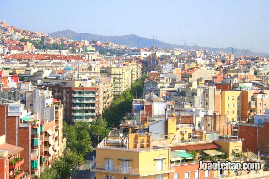 Os Miradouros mais famosos, Guia de Barcelona
