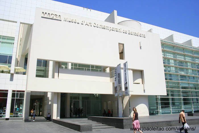 Foto do Museu de Arte Contemporânea de Barcelona MACB