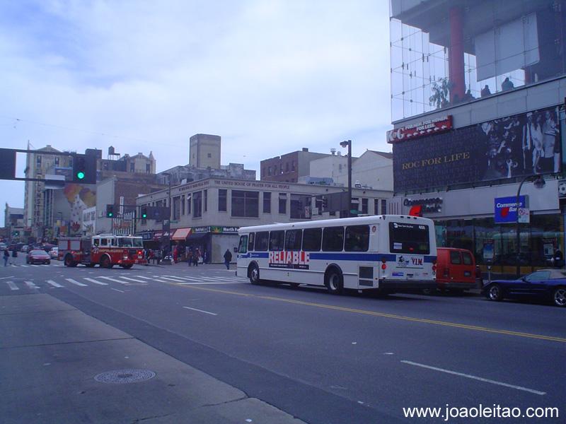 Autocarros em Nova Iorque