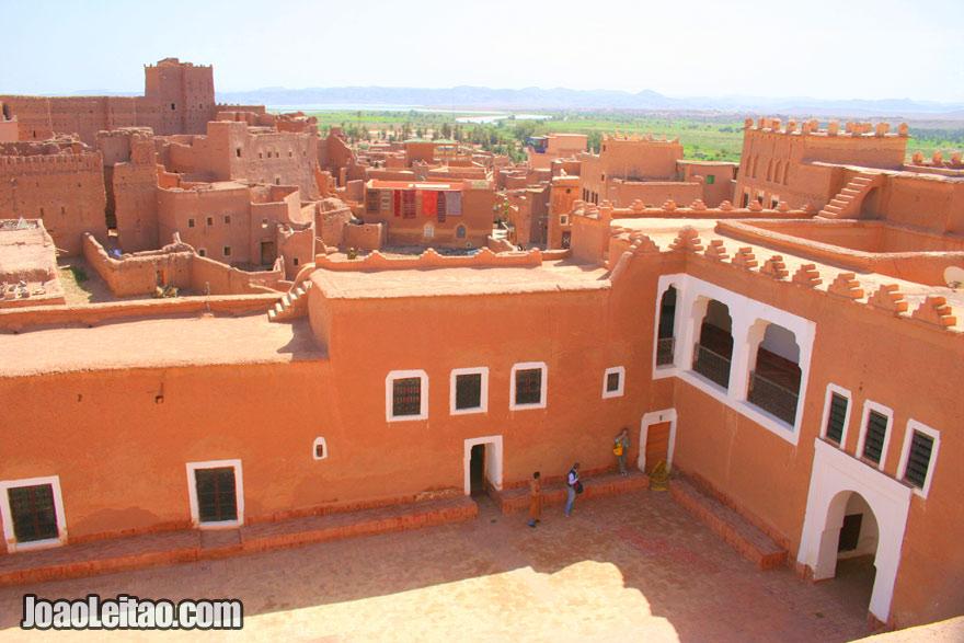 Casbá de Taourirt, Visitar Ouarzazate