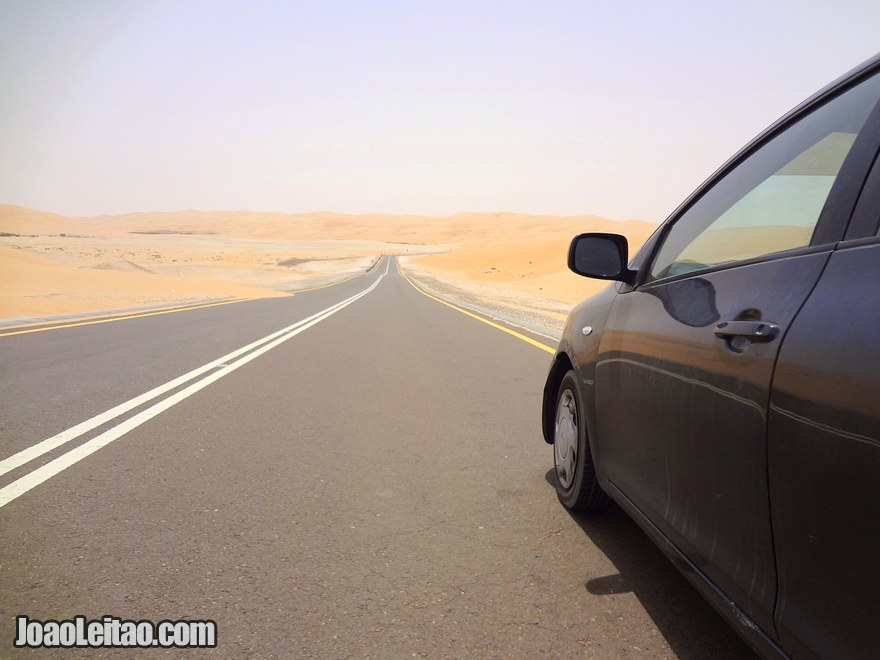 Foto do Toyota que aluguei – Alugar carro no Dubai