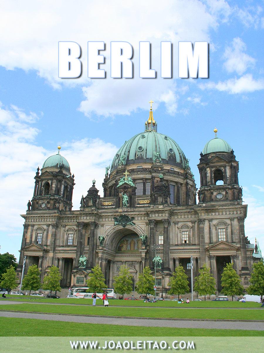 Visitar Berlim, Guia de Viagem - Dicas, Roteiros, Mapas, Fotos