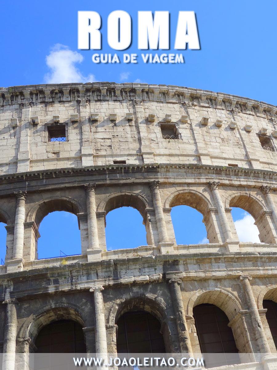 Visitar Roma, Guia de Viagem - Dicas, Roteiros, Mapas, Fotos