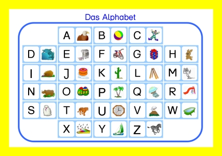 Alfabeto Alemao