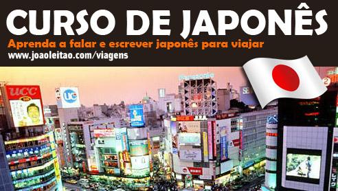 Aprender Japonês, Curso de Japonês para viajar