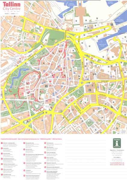 Mapa Monumentos Tallinn