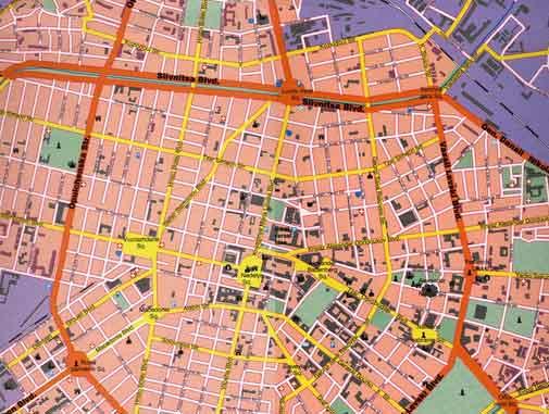 Mapa Monumentos Sofia, Bulgária 37