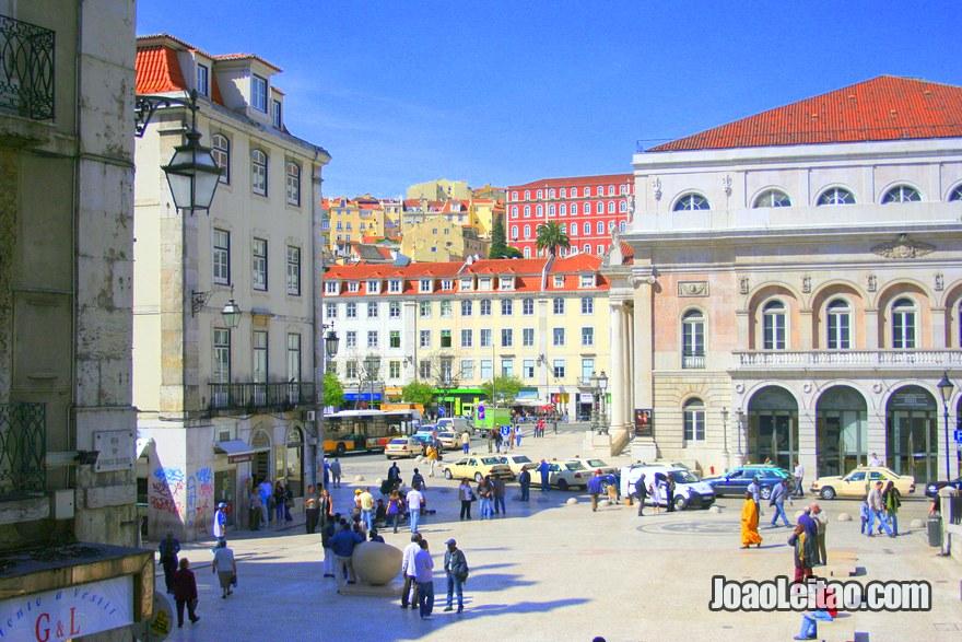 Foto do Largo São Domingos em Lisboa