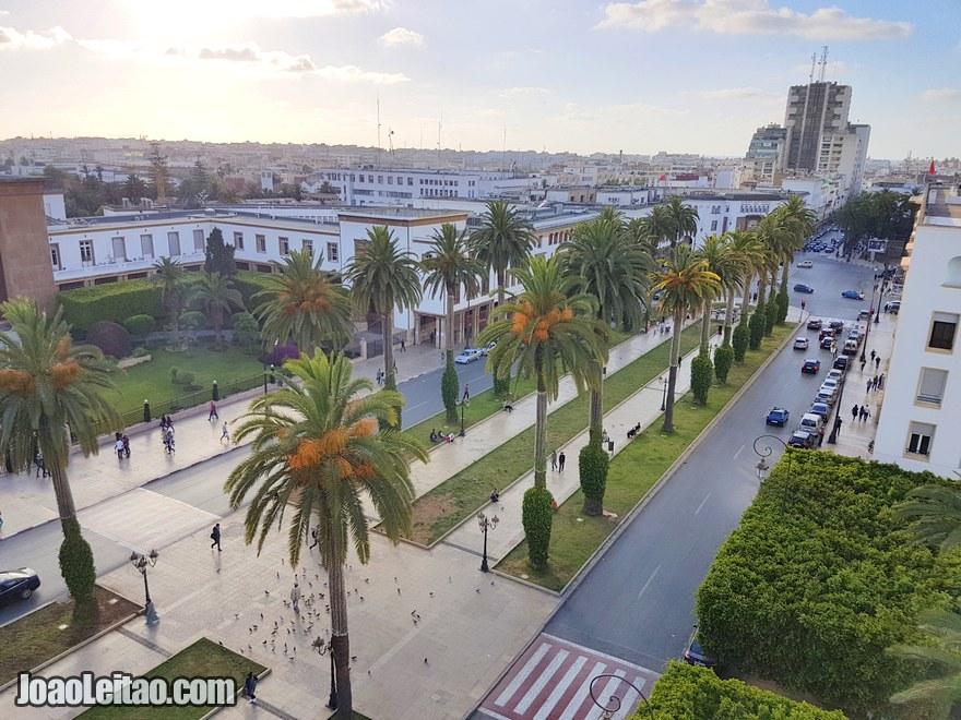 Foto da Avenida Mohammed V