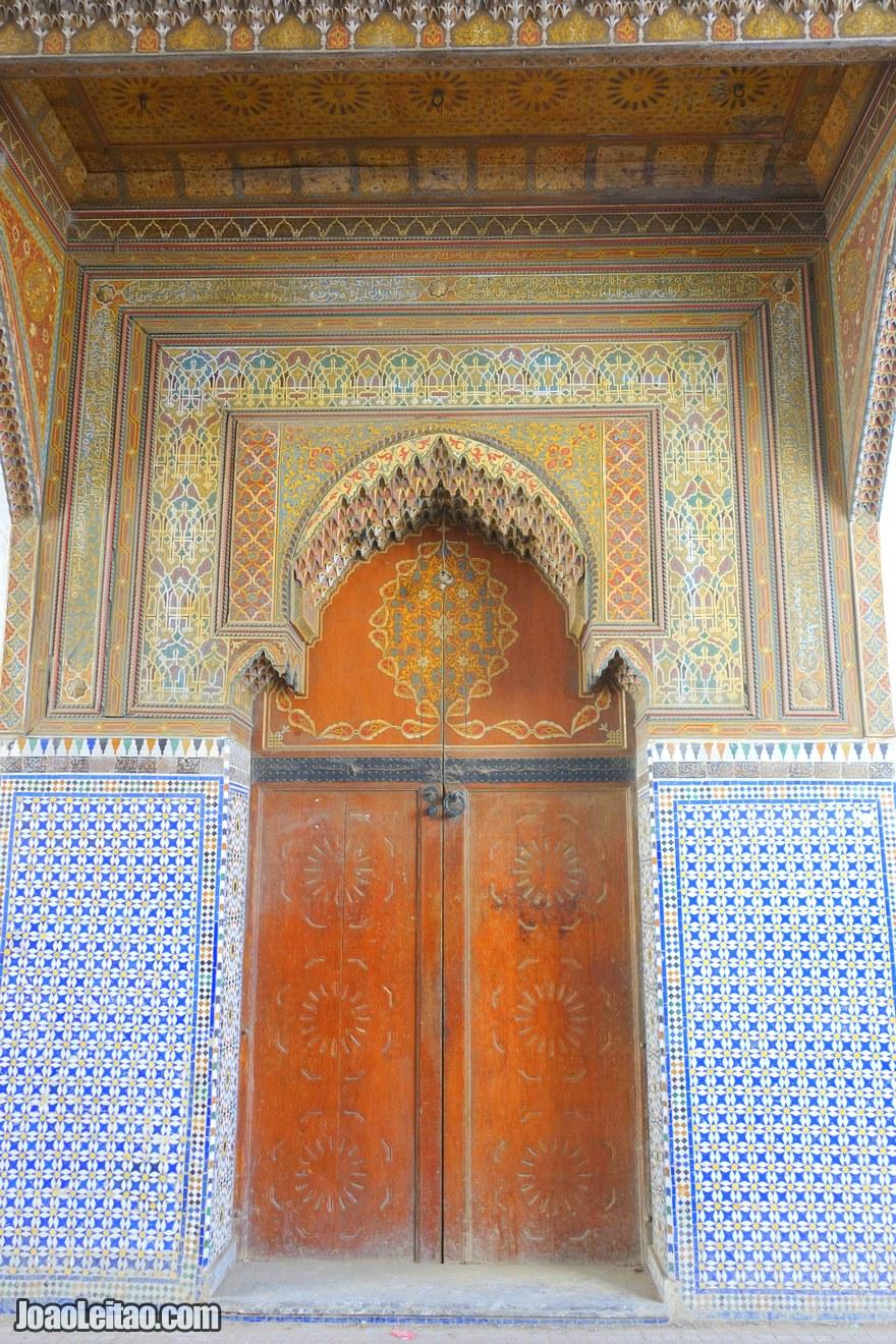 Foto de porta na Medina de Rabat