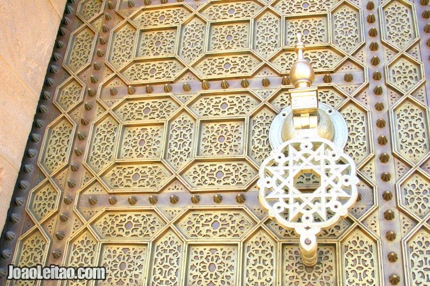 Foto de porta marroquina decorada