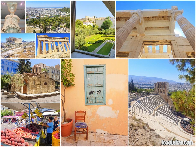 Melhores atrações de Atenas