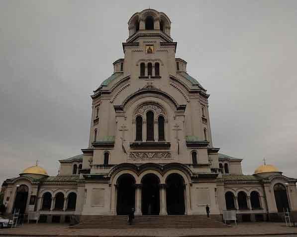 Fotografias Catedral Alexandre Nevski Sofia, Bulgária 2