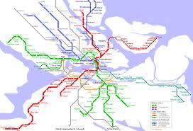 Mapa Metro de Estocolmo, Suécia 2