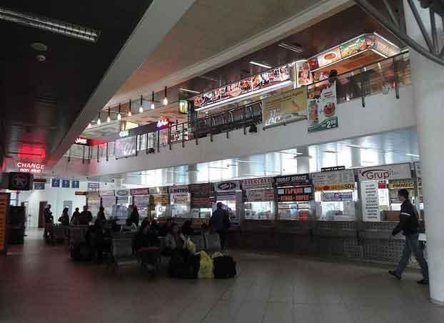 Fotografias Terminal Autocarros Sofia, Bulgária 24