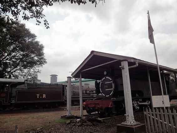Museu Caminhos de Ferro em Nairóbi, Quénia