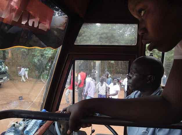 Autocarro Kampala até Juba