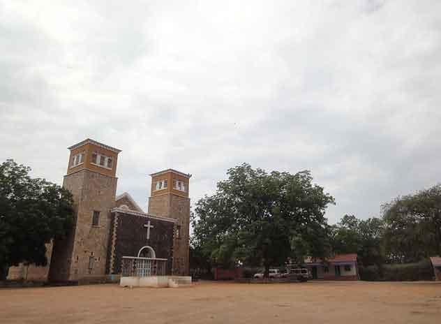 Catedral de Todos os Santos em Juba, Sudão do Sul