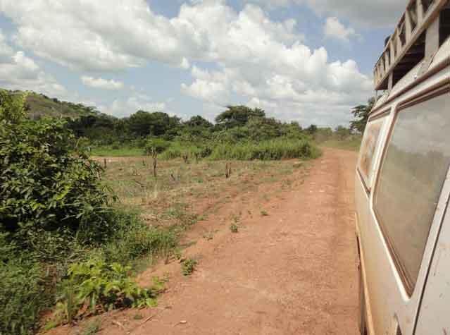 Estrada Lasu até Fronteira do Congo, Sudão do Sul