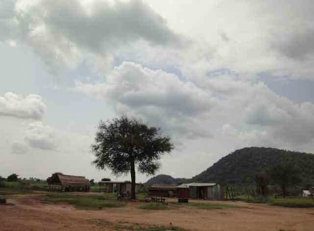 Estrada Ganji para Yei, Sudão do Sul