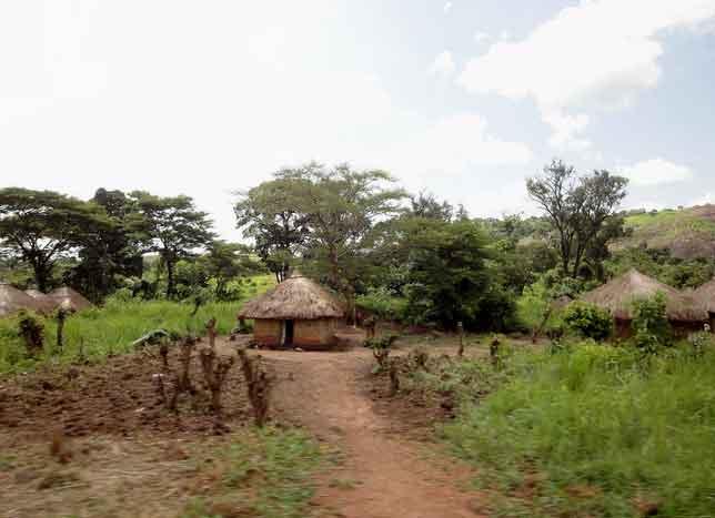 Estrada Yei para Lasu, Sudão do Sul