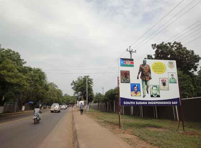 Independência do Sudão do Sul em Juba