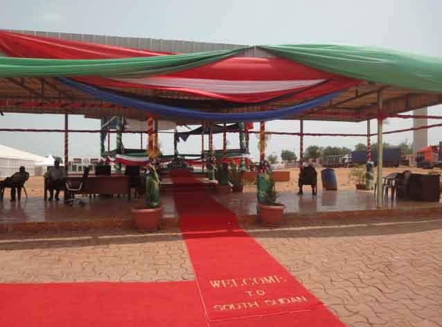 Mausoléu Dr. John Garang de Mabior, Juba Sudão do Sul