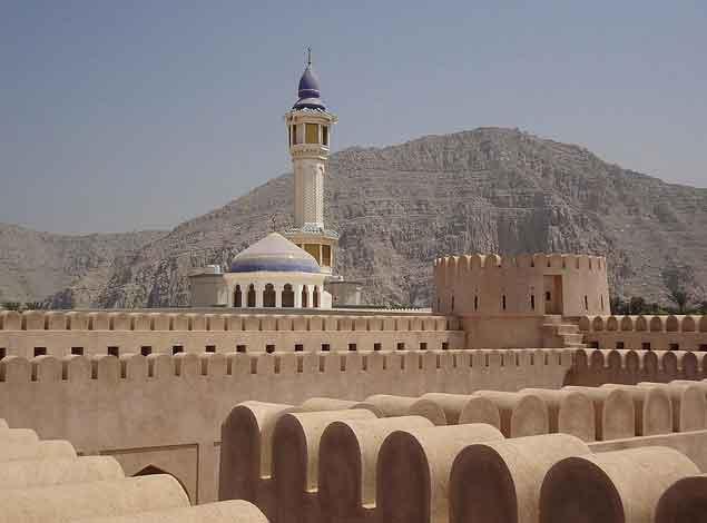 Forte Alkmazrh em Khasab, Musandam Omã