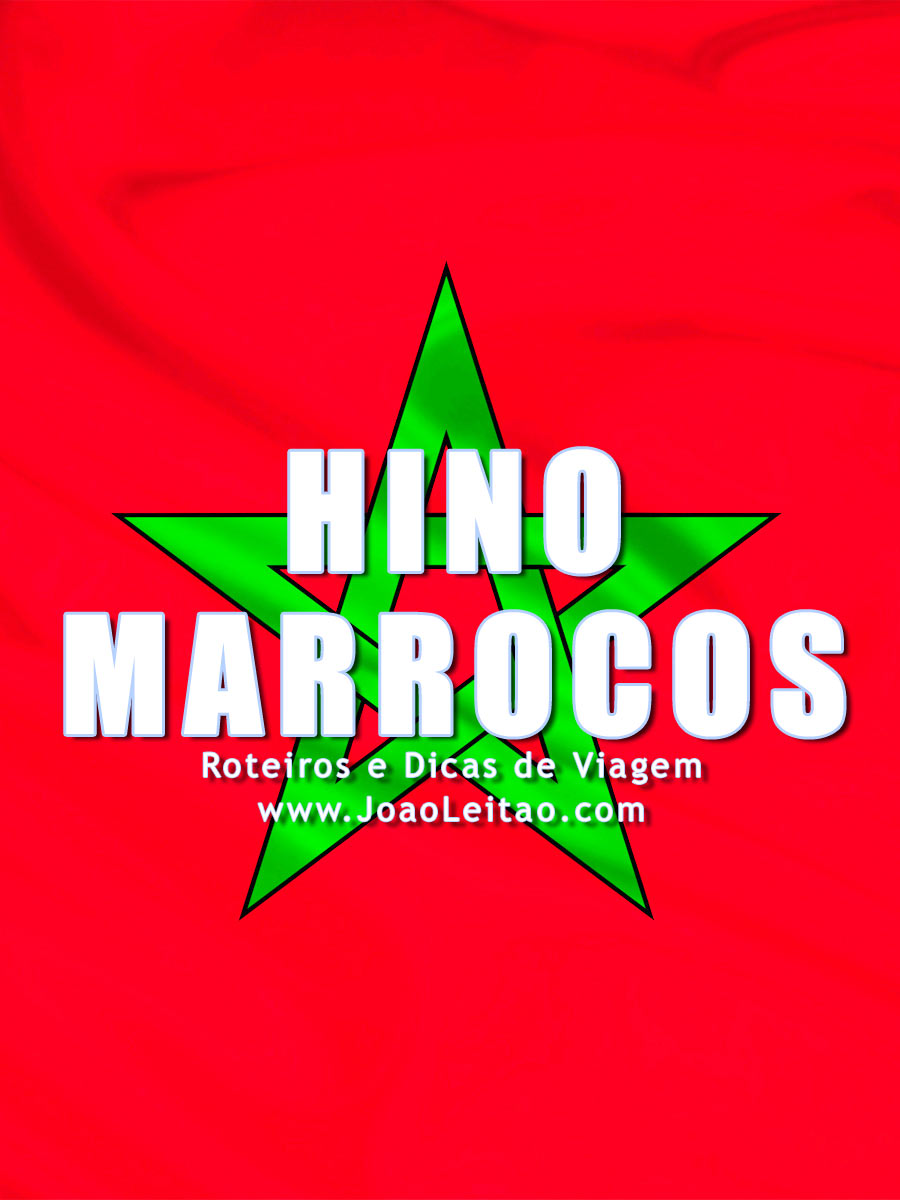 Hino de Marrocos, O Hymne Chérifien Marroquino