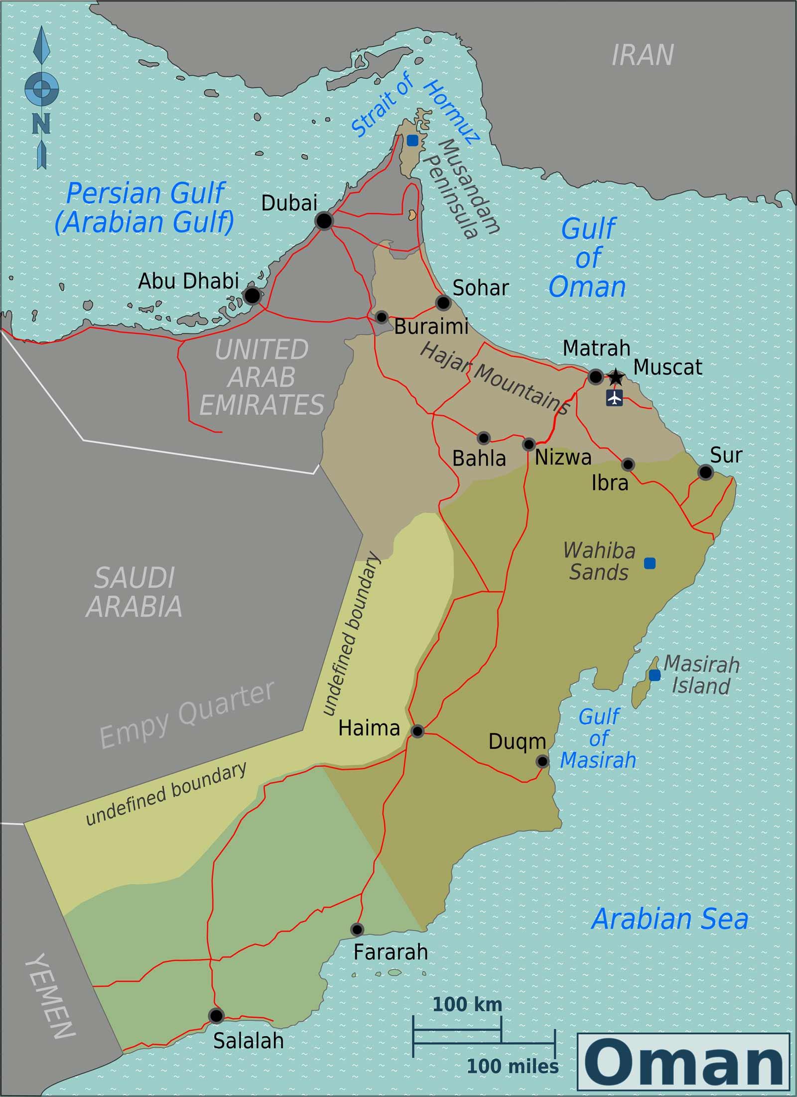 Viajar em Omã • Guia de Viagem 2