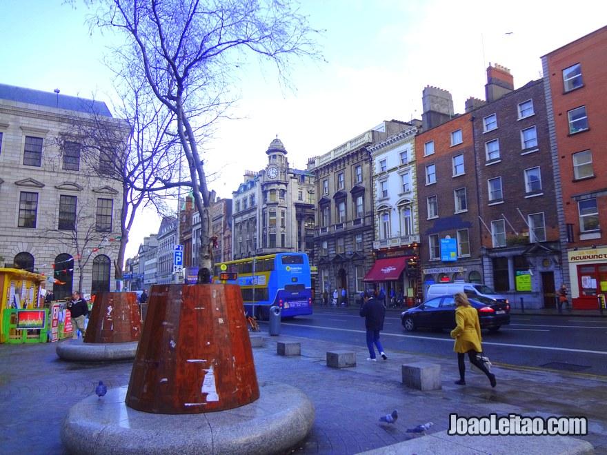 Foto do Centro de Dublin