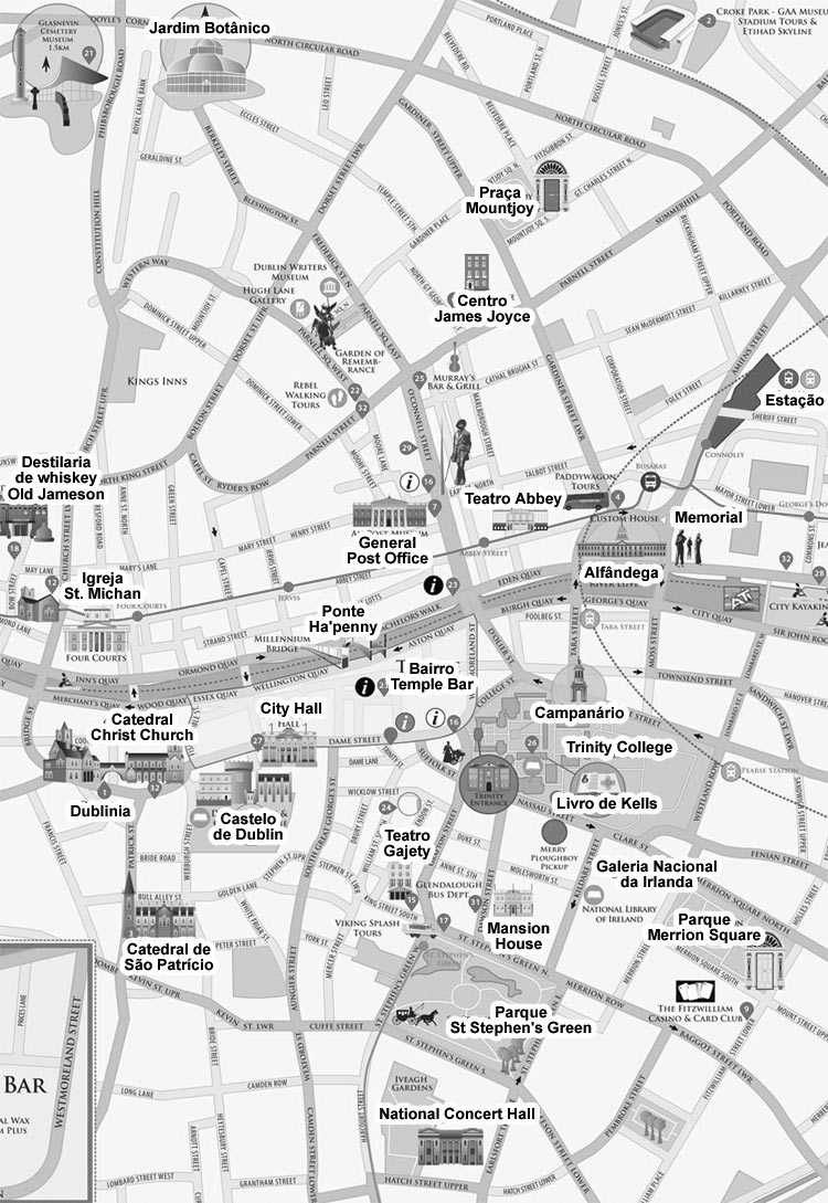 Principais Monumentos de Dublin