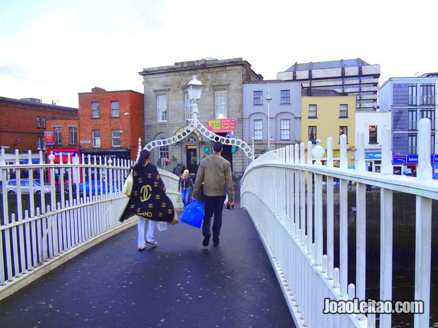 Foto da Ponte Ha penny Bridge
