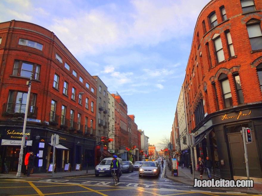 Foto da rua St Andrew Street