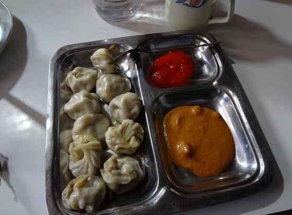 Comida em Tansen, Nepal