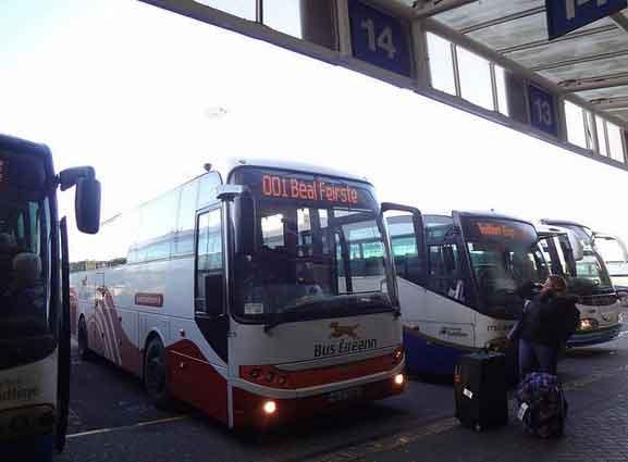 Estação de Autocarros Europa em Belfast, Irlanda do Norte